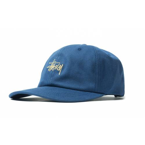 Stussy Stock Low Pro Cap - Navy