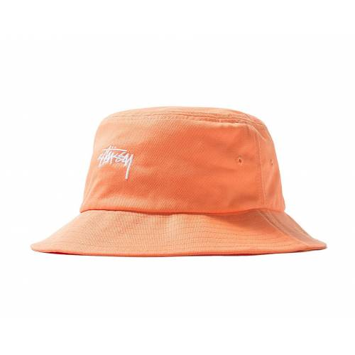 Stussy Stock Bucket Hat - Peach