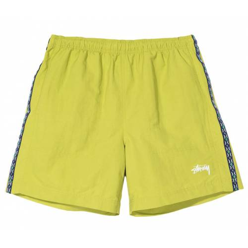 Stussy Taping Nylon Short - Lime