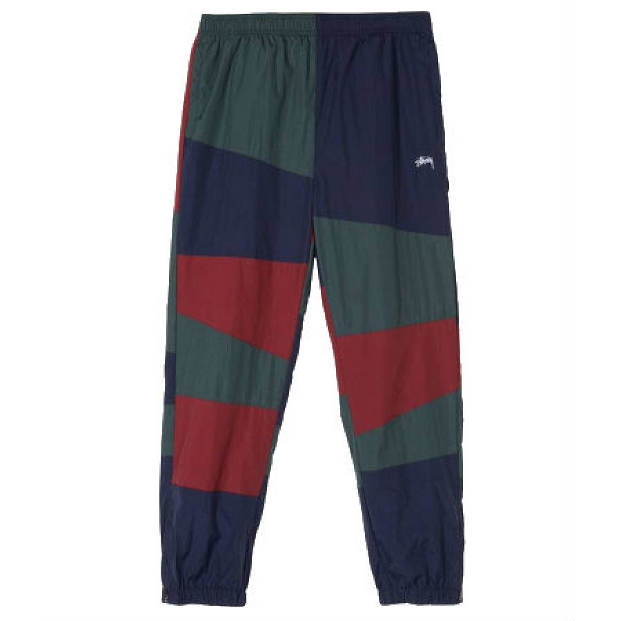 Stussy Panel Track Pants - Navy