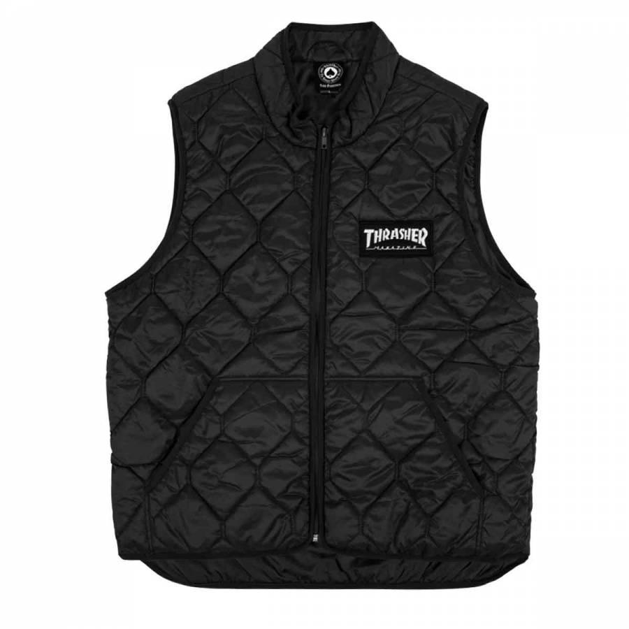 Thrasher Magazine Logo Vest - Black