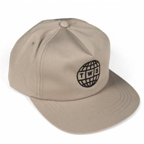 TWS Globe Hat - Khaki