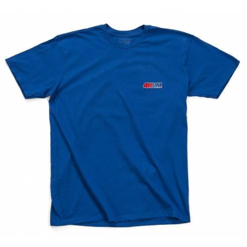 411VM Embroidered T-Shirt - Blue