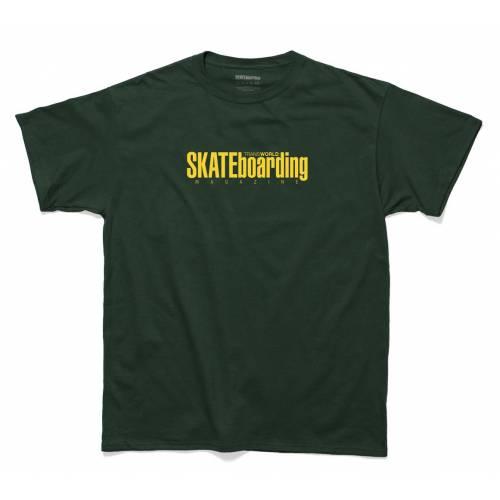 Classic Magazine T-Shirt - Green