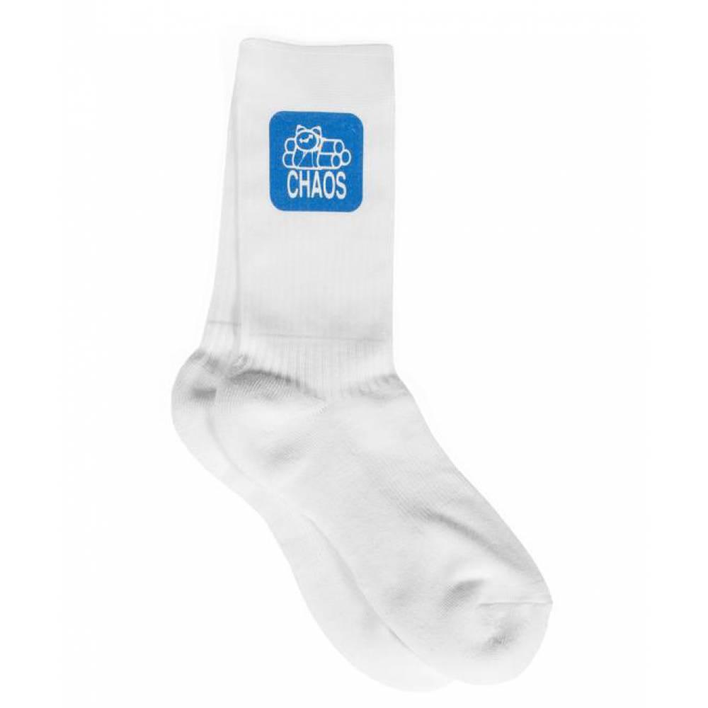 Stance Division Crew Socks in Grigio