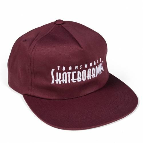 TWS Golden Gate Hat - Burgundy