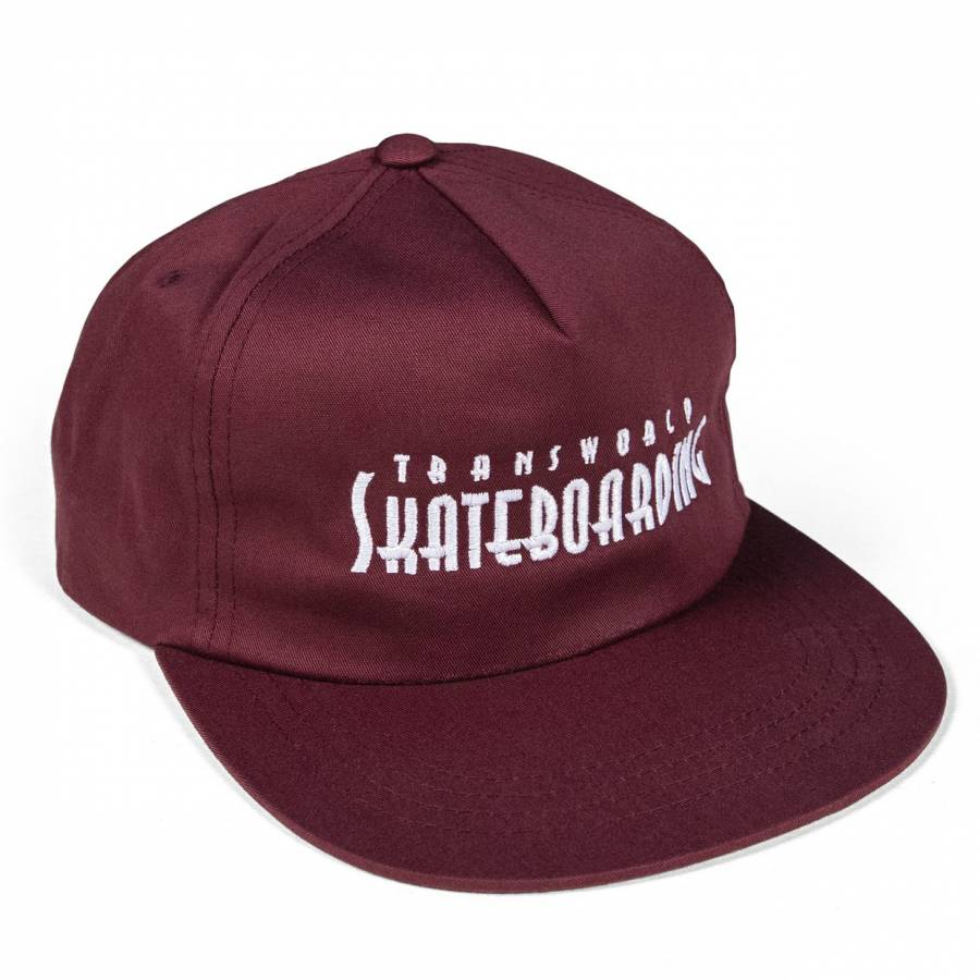 TWS Golden Gate Hat - Burgundy