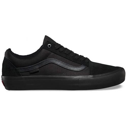Vans Old Skool Skate Shoes - Blackout