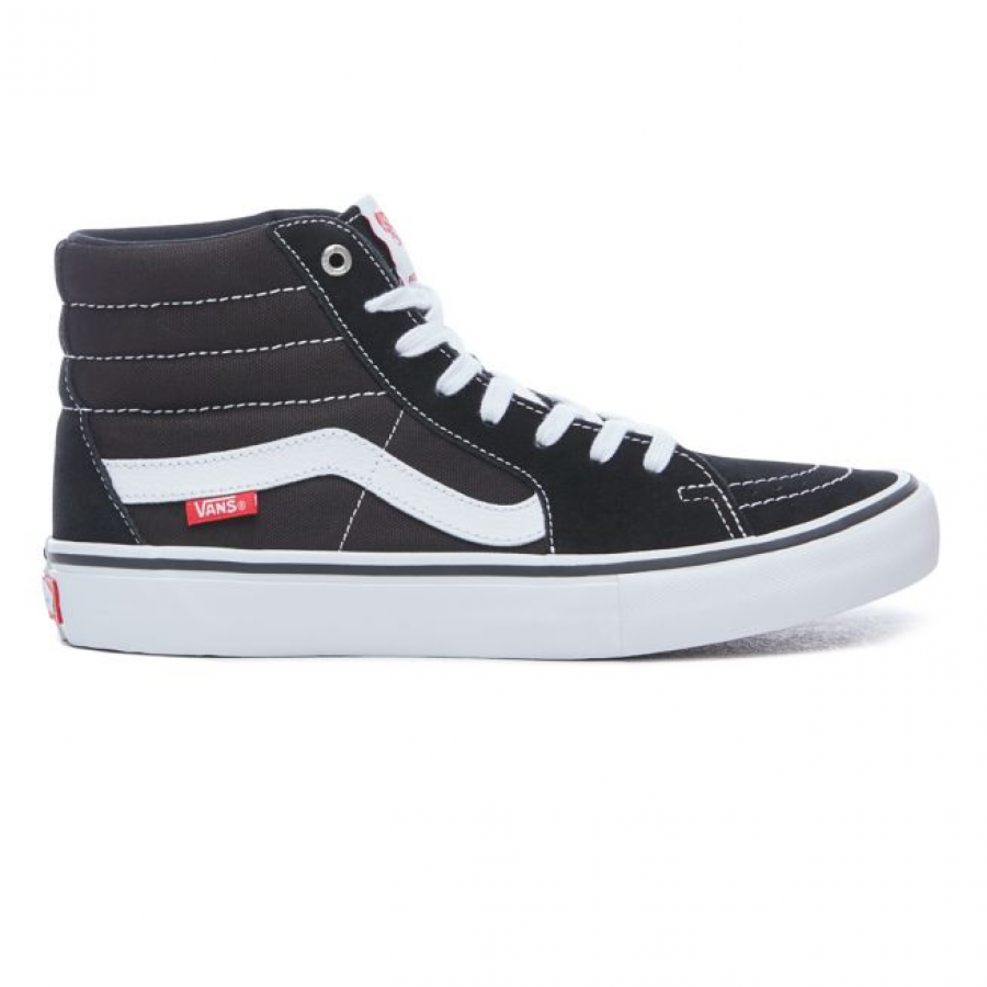 Vans Sk8 Hi Shoes - Black / White