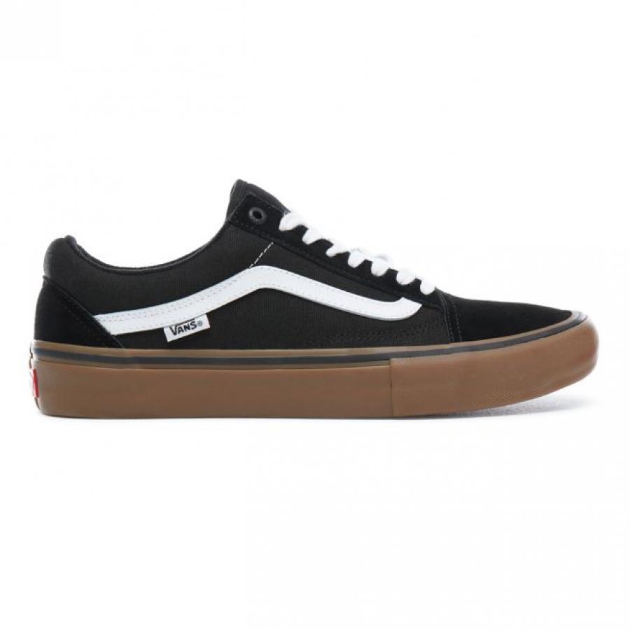 Vans Old Skool Pro Shoes - Black / Gum