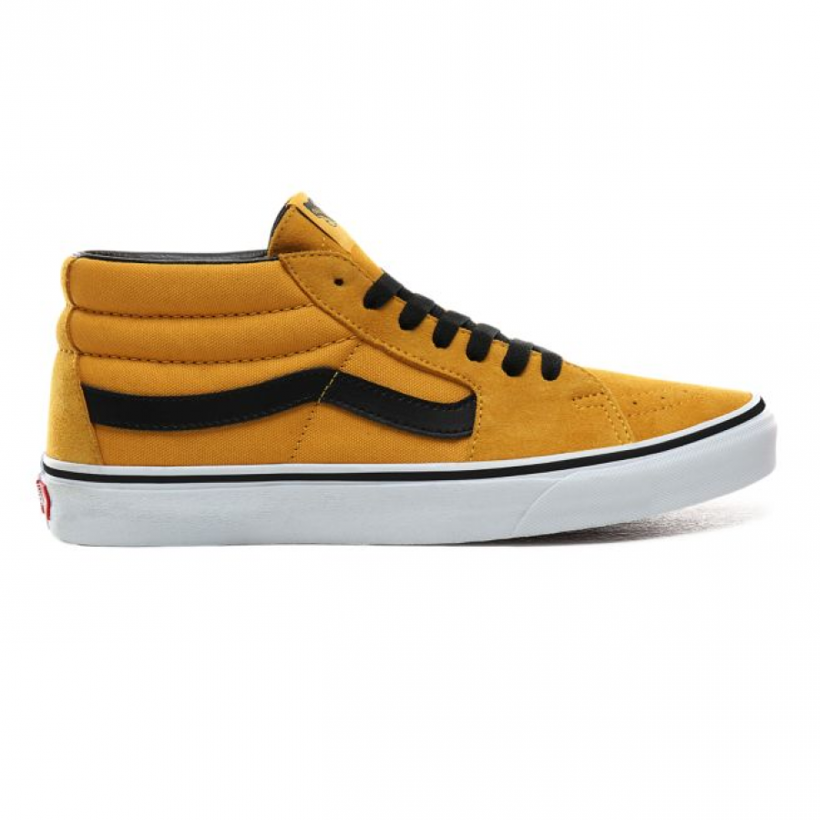 Vans SK8 Mid Shoes - Mango Mojito / True White
