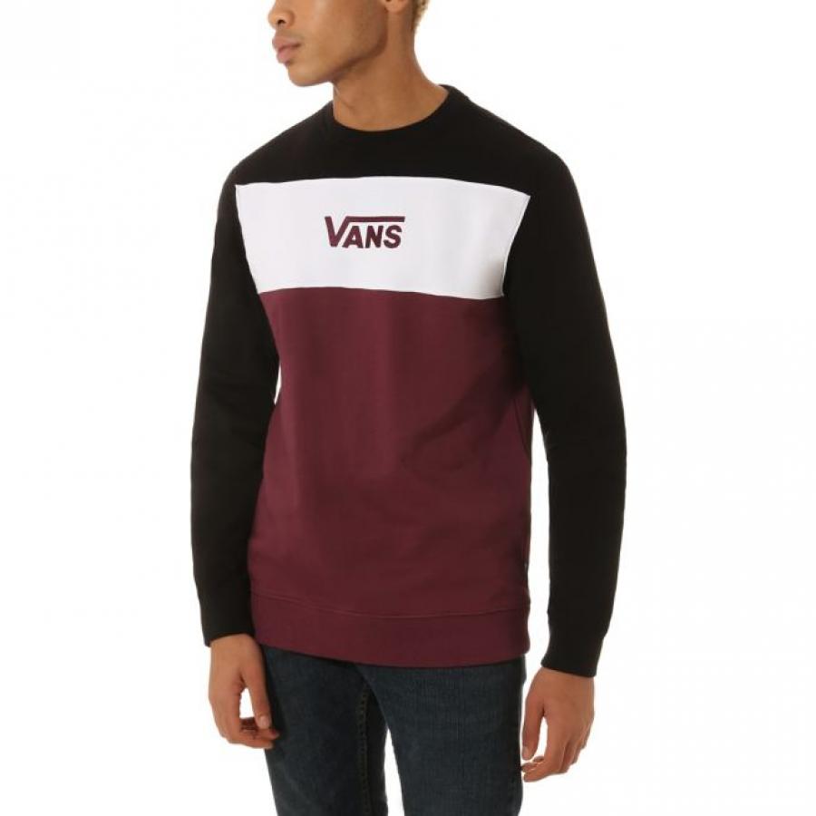 Vans Retro Active Crew Sweatshirt - Prune / Black
