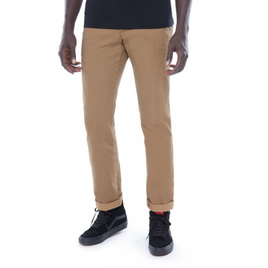 Vans Authentic Chino Stretch Trousers - Brown