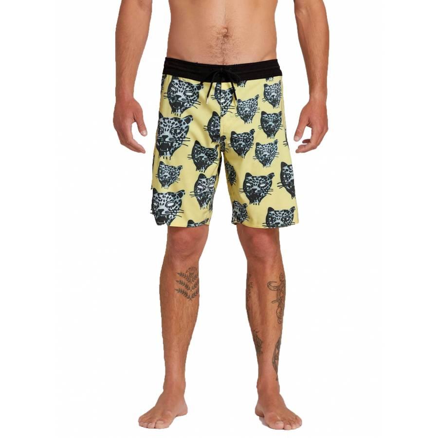 Volcom Ozzie Stoney Shorts - Lime