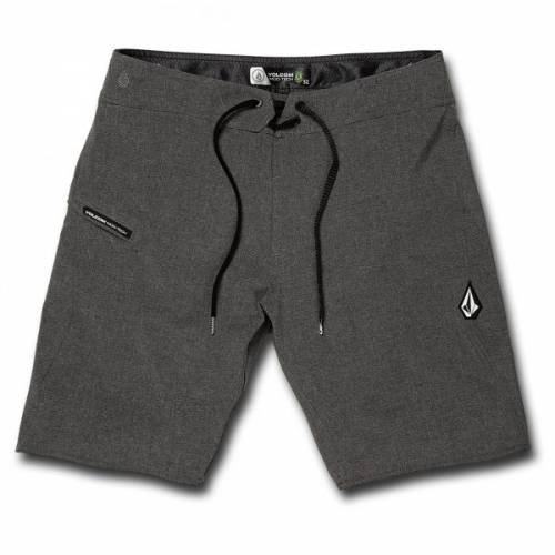 Volcom Lido Static Mod 20 Shorts - Charcoal Heathe...