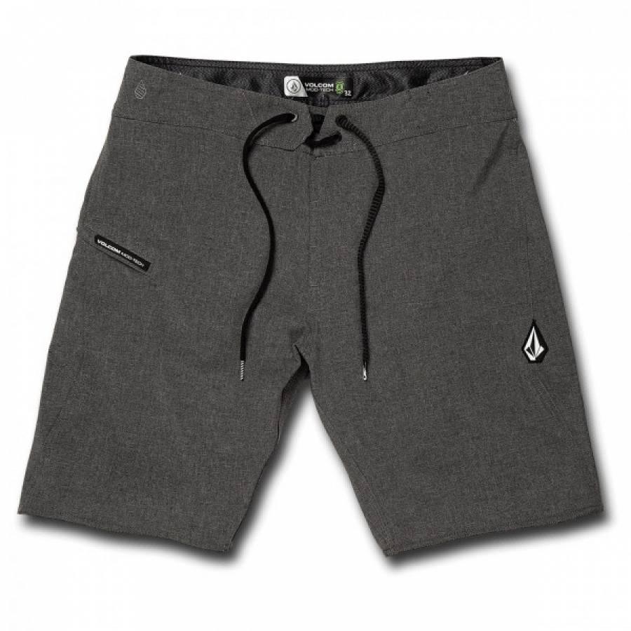 Volcom Lido Static Mod 20 Shorts - Charcoal Heathe...