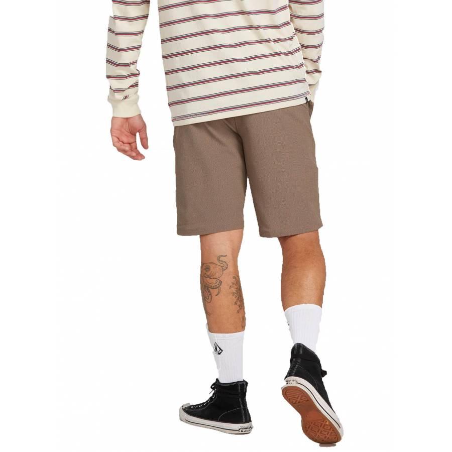 Volcom Frickin SNT Dry Hybrid Shorts - Mushroom