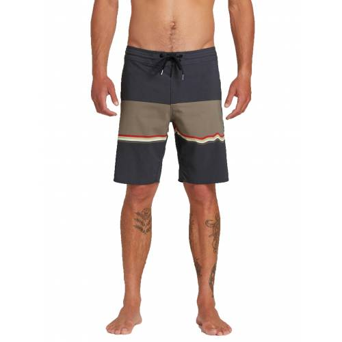 Volcom 3 Quarta Stoneys Trunks - Asphalt Black