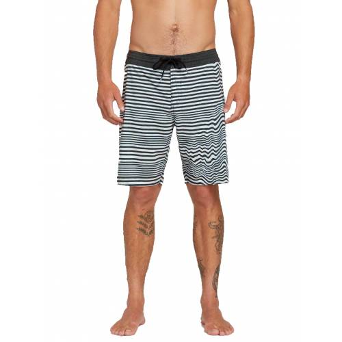 Volcom Aura Stoneys Trunks - Black/White
