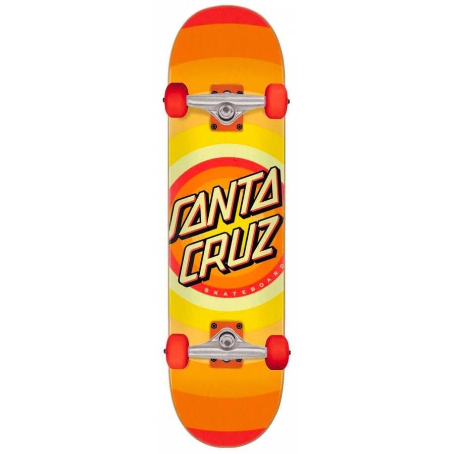 Santa Cruz Gleam Dot Complete Skateboard - 8