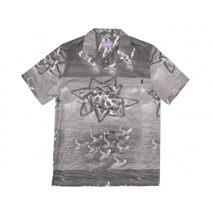 Alltimers Sync Up Button Up Shirt - Black