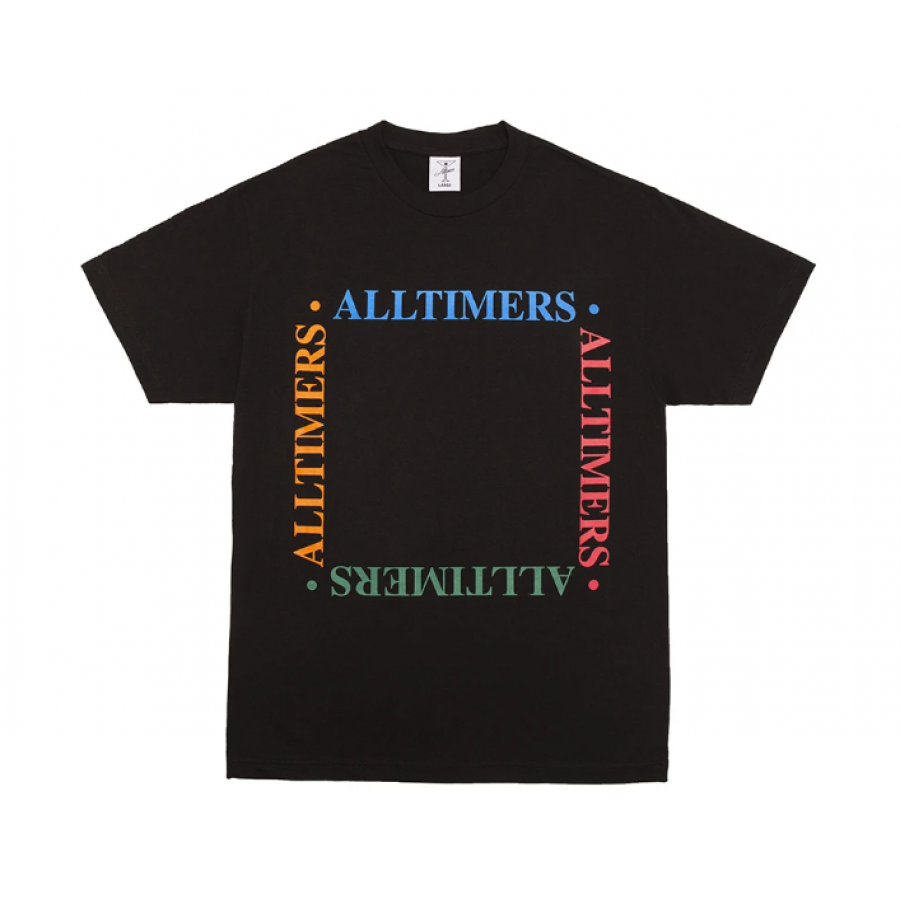 Alltimers Box EM Out Tee - Black