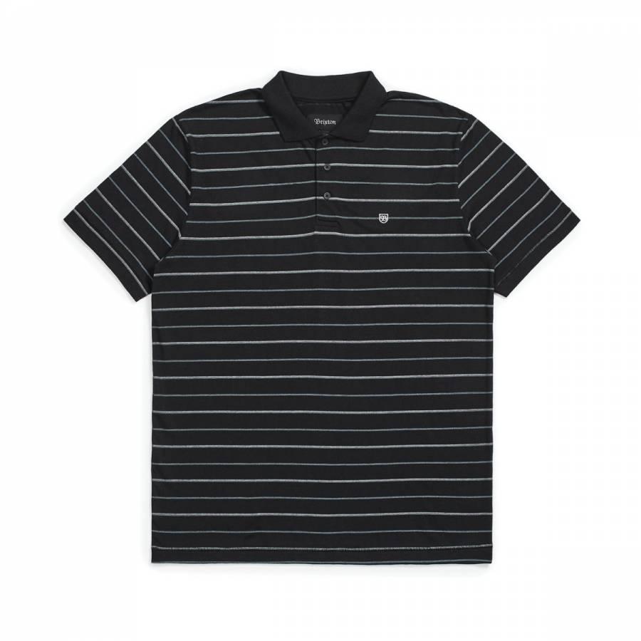Brixton Hilt S/S Polo - Black