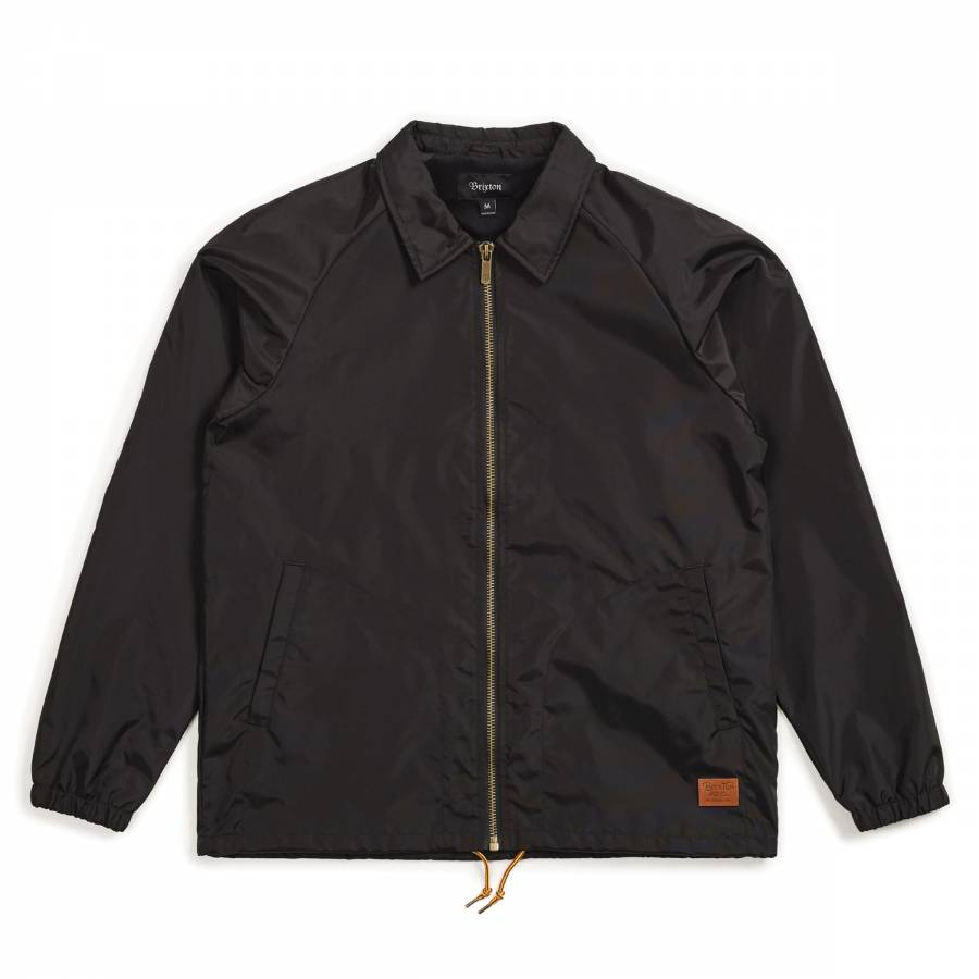Brixton Claxton Collar Jacket - Black