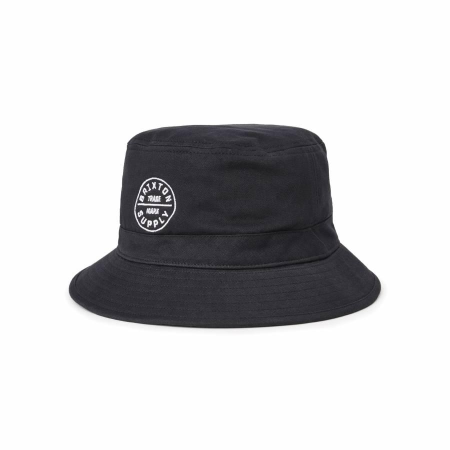 Brixton Oath Bucket Hat - Black