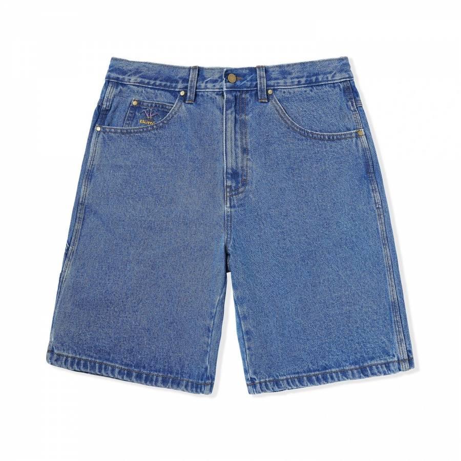 Butter Royal Denim Shorts - Washed Indigo