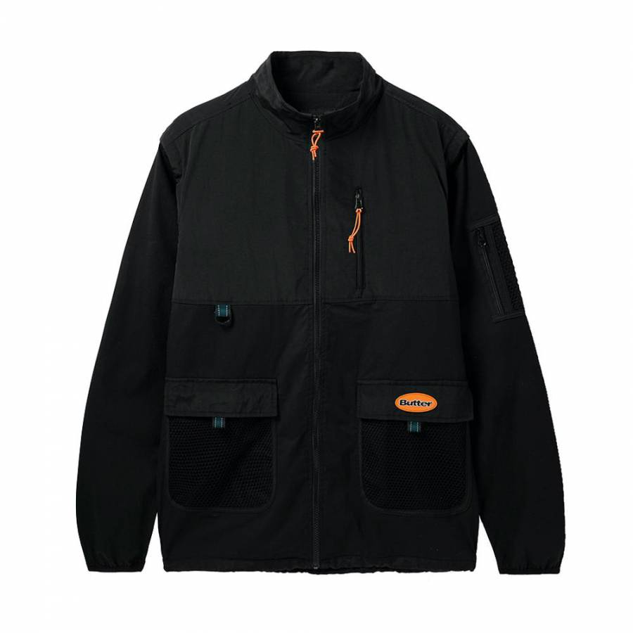 Butter Field Convertible Jacket - Black