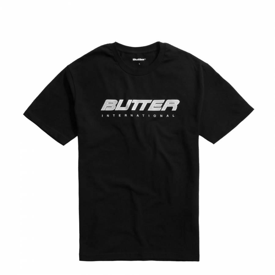 Butter International Logo T-shirt - Black
