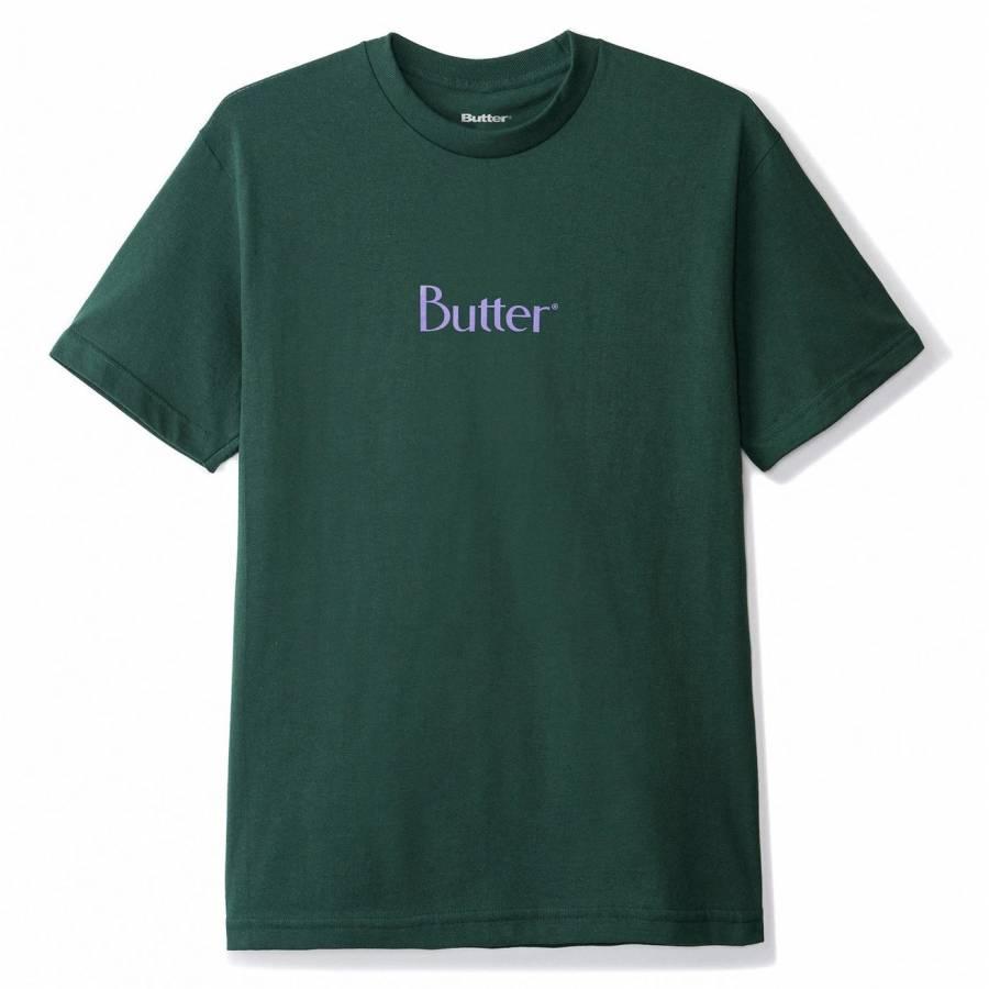 Butter Classic Logo Tee - Forest Green