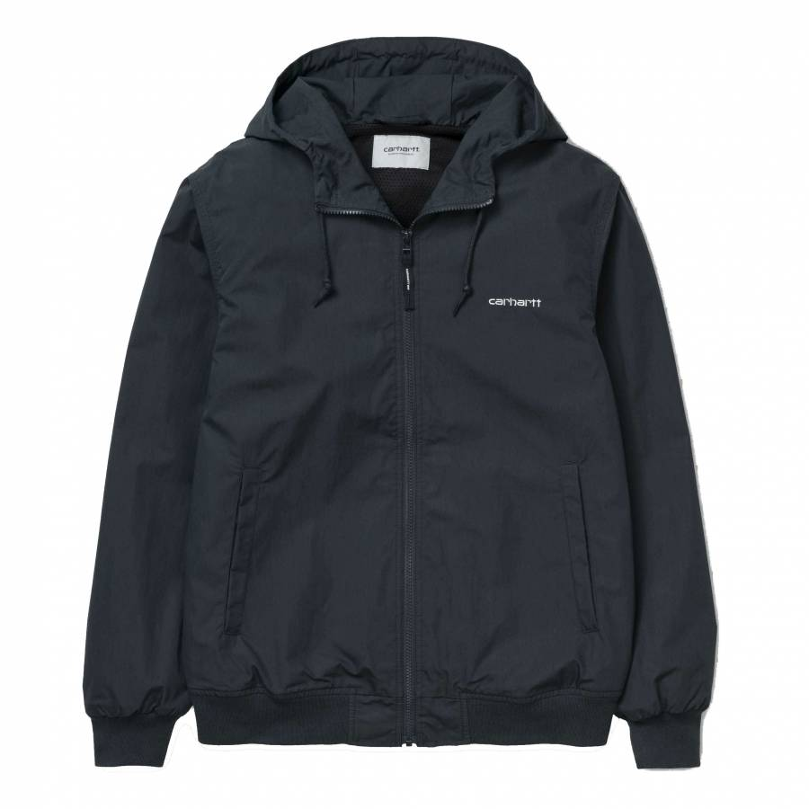 Carhartt Marsh Jacket - Dark Navy / White