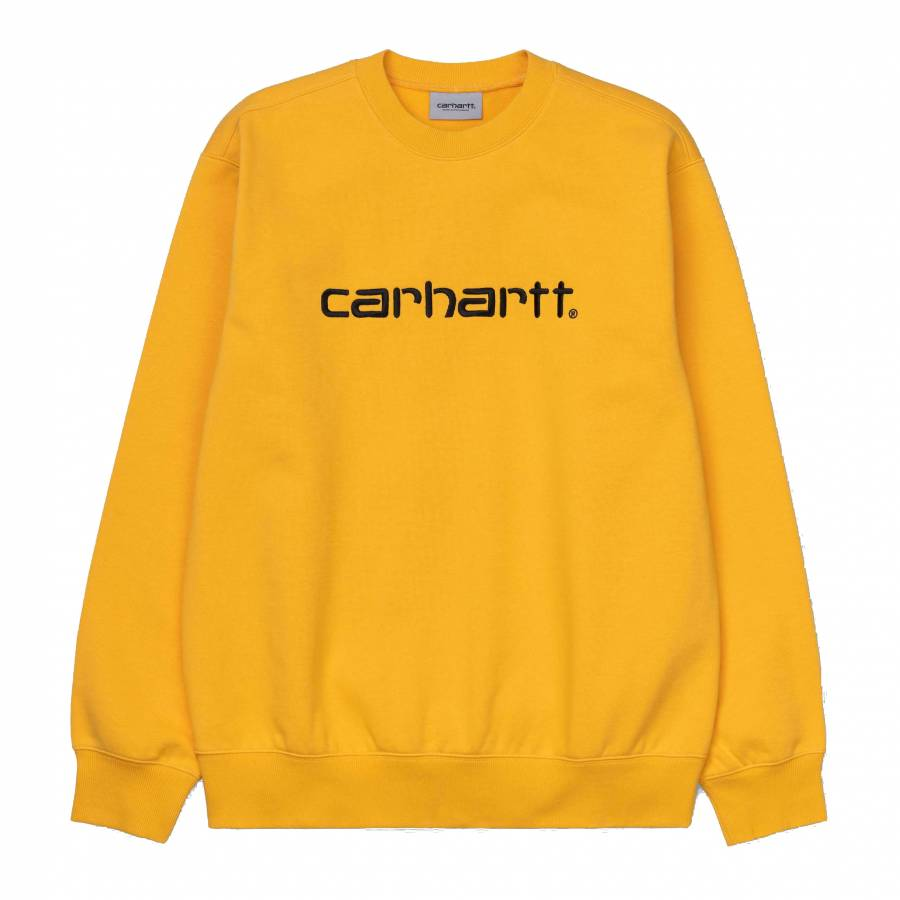 Carhartt Sweatshit Sweat - Sunflower / Black