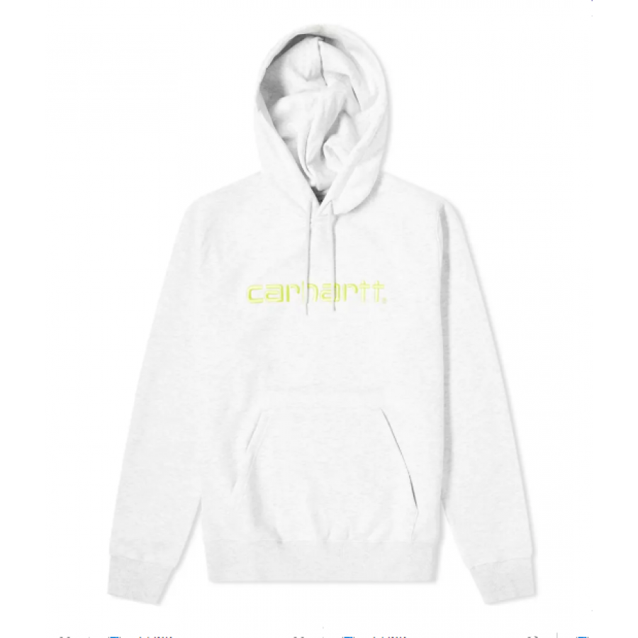 Carhartt Sweatshit Hooded Sweat - Ash Heather / Li...