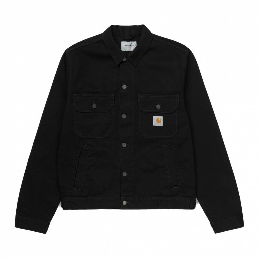 Carhartt Stetson Jacket - Black (Rinsed)