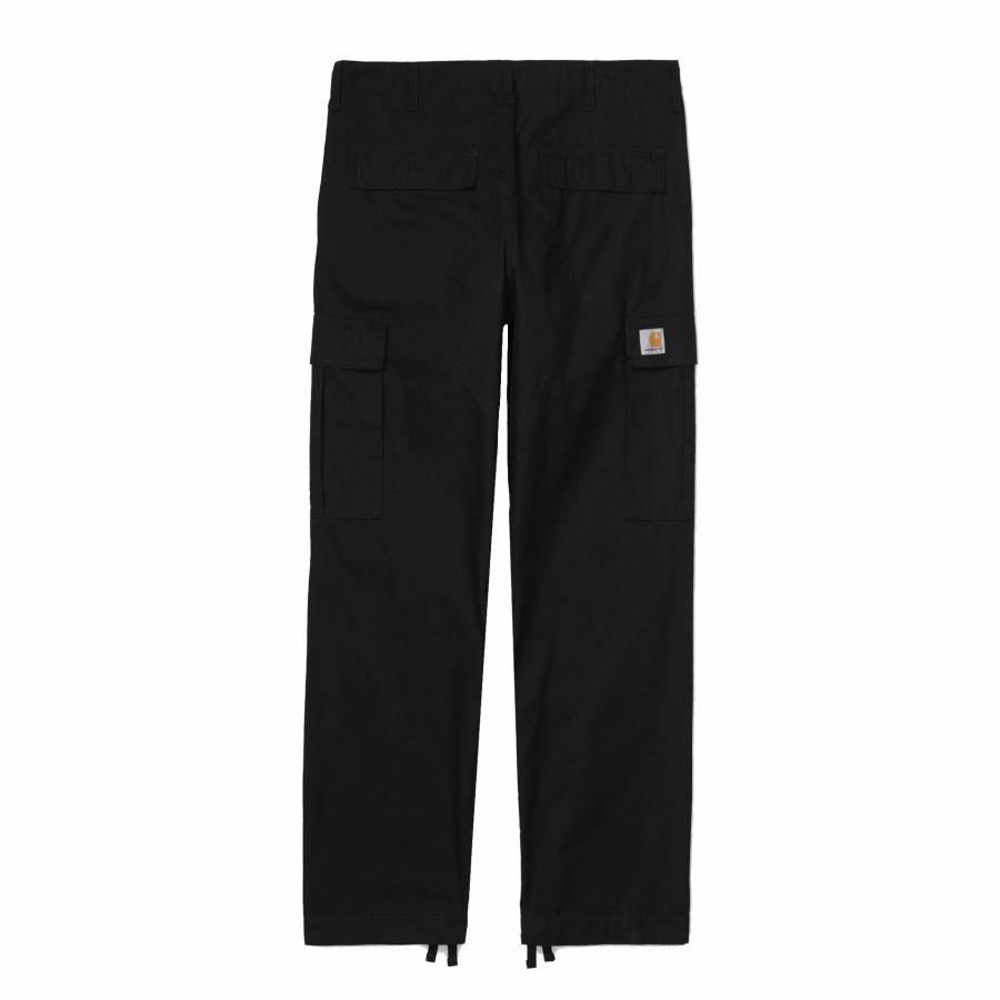 Carhartt Regular Cargo Pant - Black (rinsed)