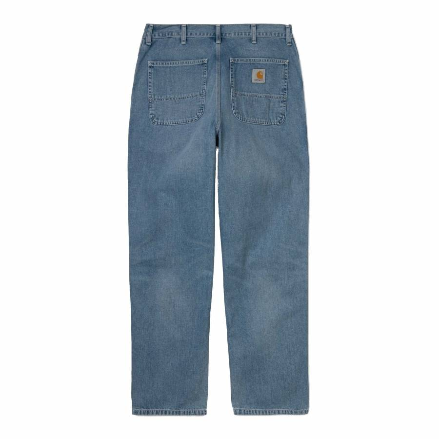 Carhartt Simple Pant - Blue (Worn Bleached)