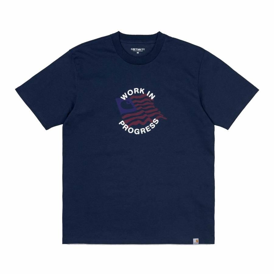 Carhartt S/S US C T-Shirt - Blue