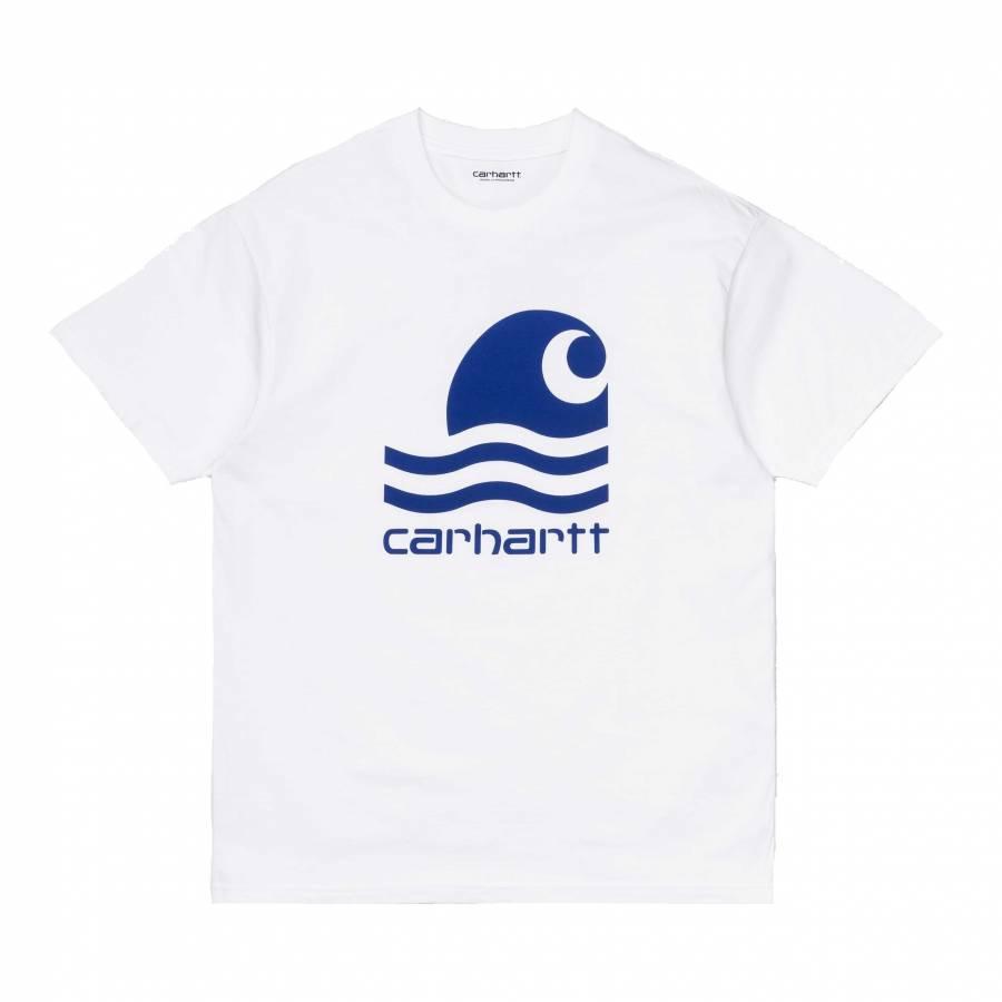 Carhartt S/S Swim T-Shirt - White / Submarine