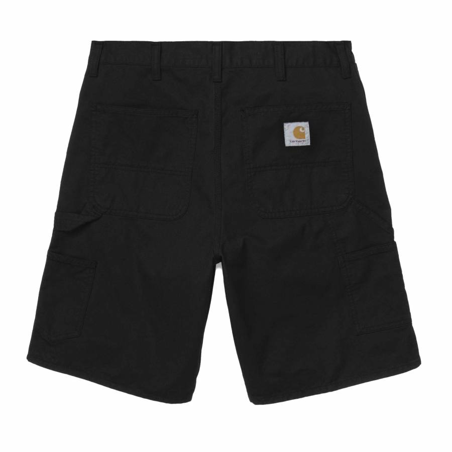 Carhartt WIP Single Knee Short - Black