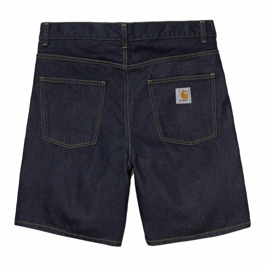 Carhartt Newel Short - Blue Rinsed