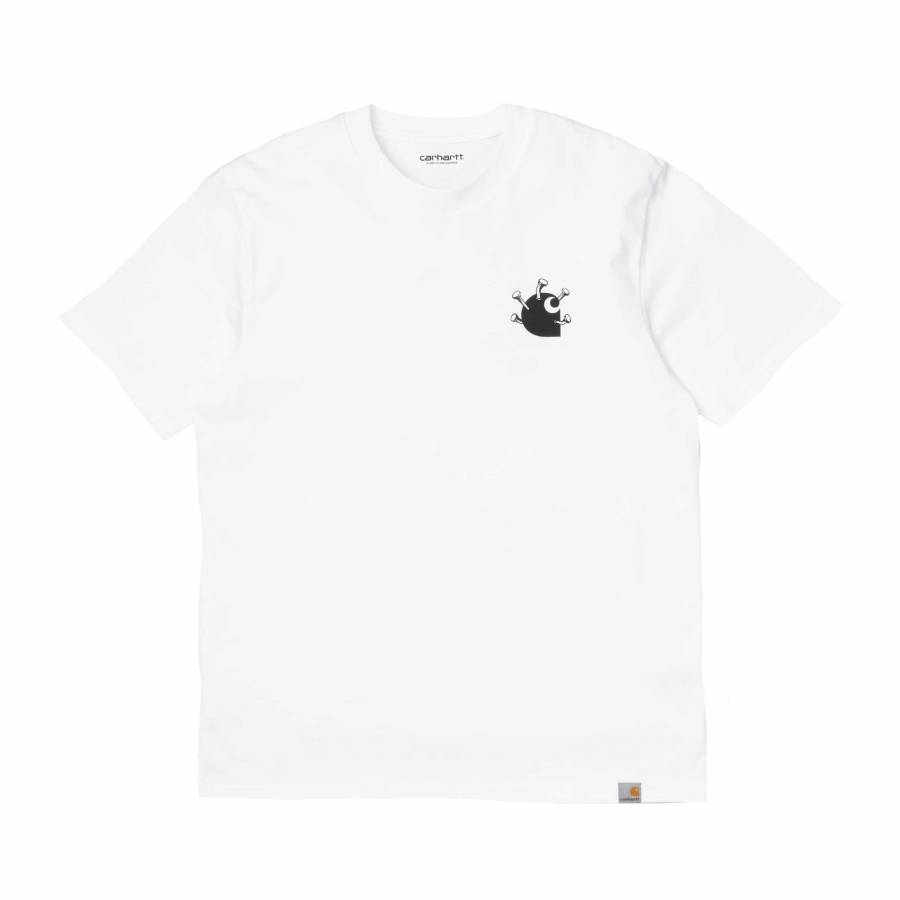 Carhartt S/S Nails T-shirt - White / Black