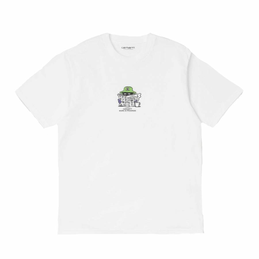 Carhartt S/S Everything Is Awful T-Shirt - White