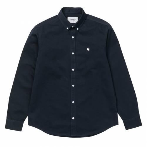 Carhartt L/S Madison Shirt - Dark Navy / Wax