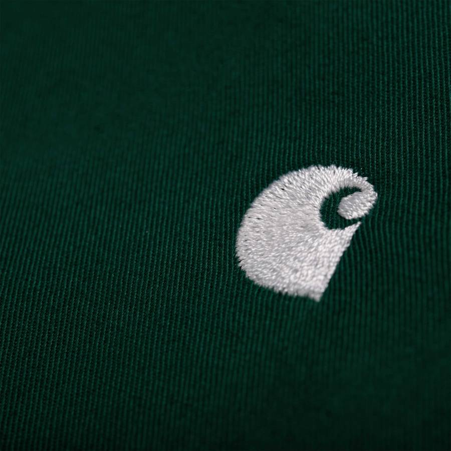 Carhartt L/S Madison Shirt - Bottle Green / Wax