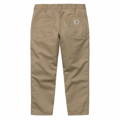 Carhartt Abbott Pants - Leather (Rinsed)