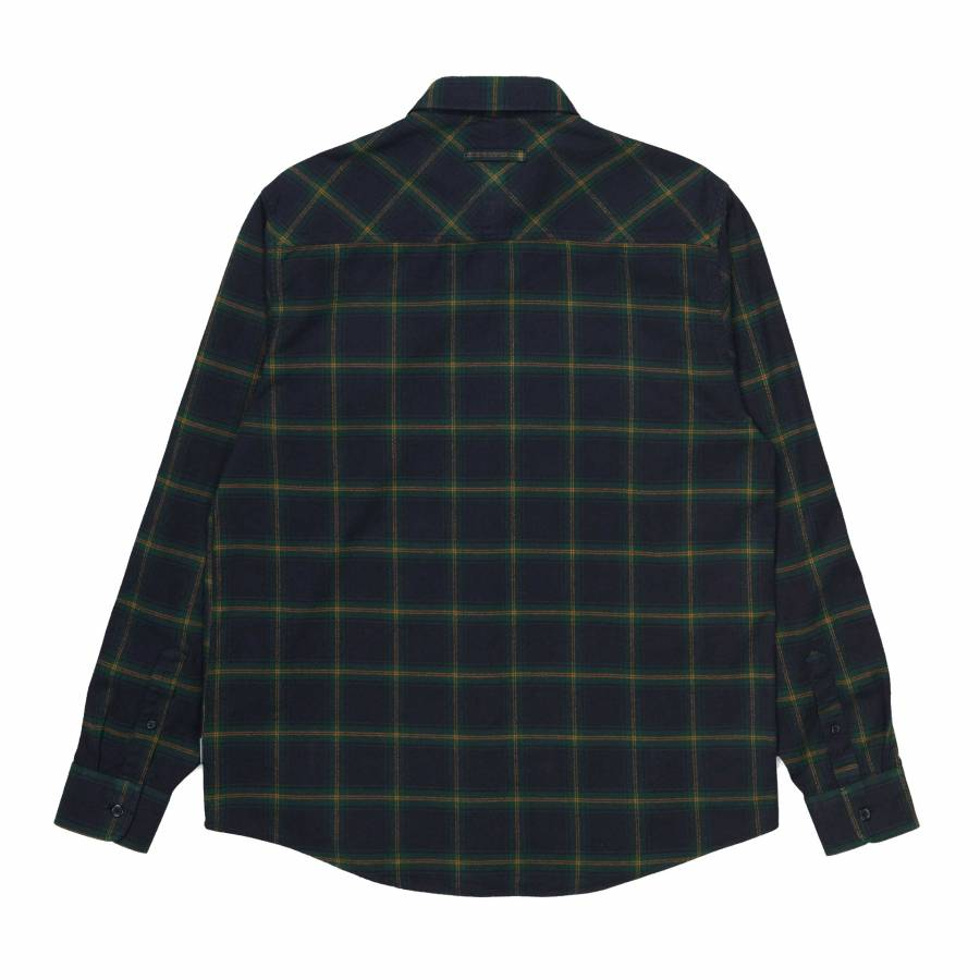 Carhartt L/S Darren Shirt - Bottle Green