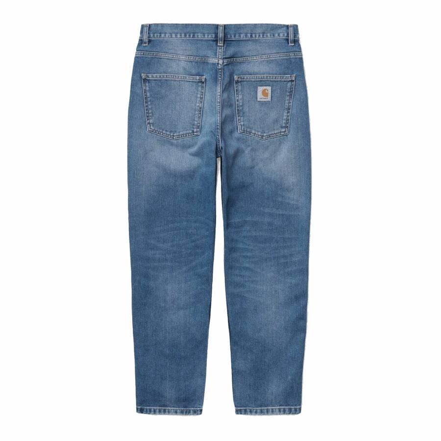 Carhartt Newel Pant - Blue (Mid used wash)